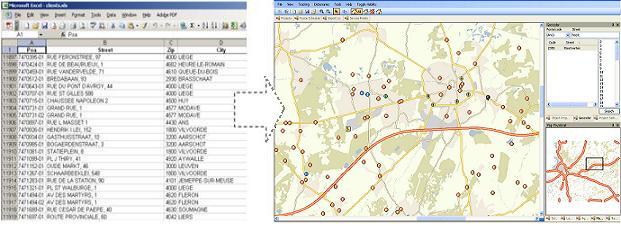 geo-coding from PlanVidia