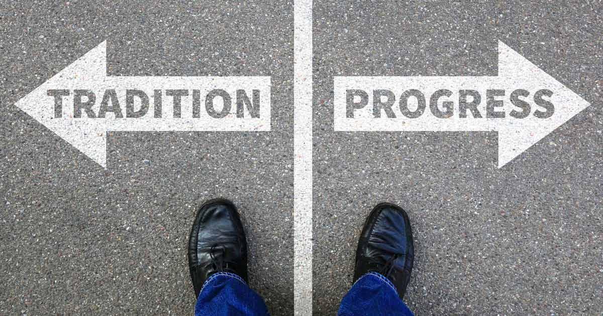 tradition-vs-progress